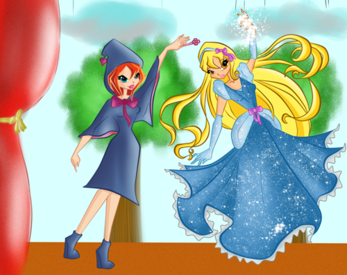 winx club vs cindarella