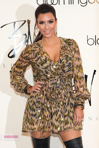 Bloomingdale's 59th St. Celebrates Kim Kardashian's Belle Noel Jewelry Collection