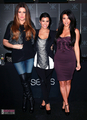 In store appearance at Sears for Kardashian Kollection - 9/18/11