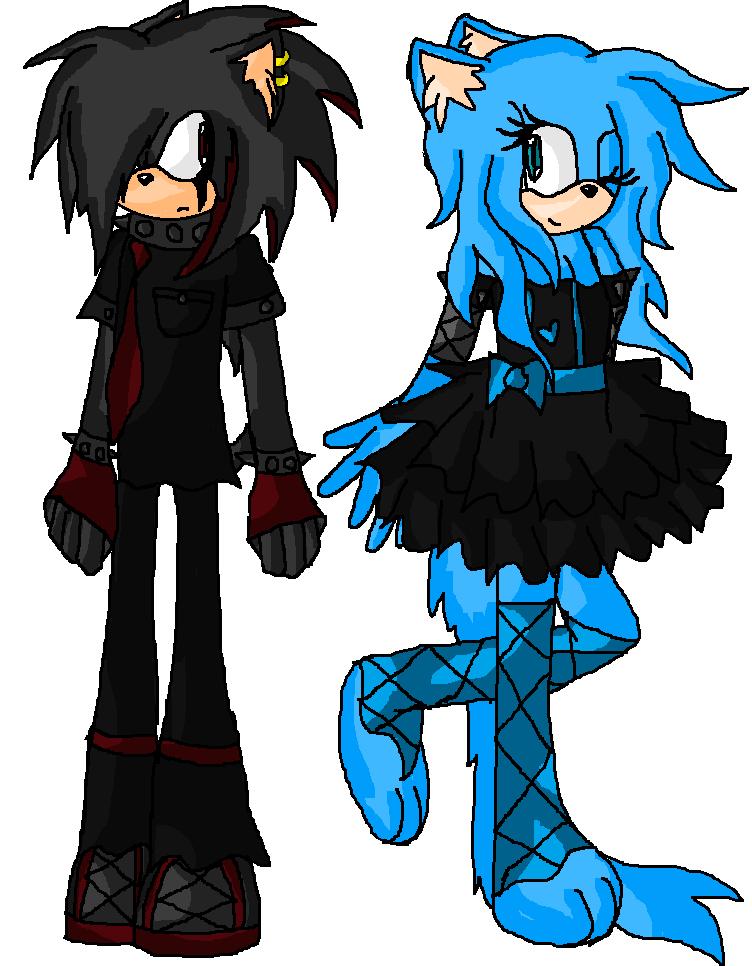 Sonic Fan Characters Gambar Katla The Lolita Cat Vulcan The Punk