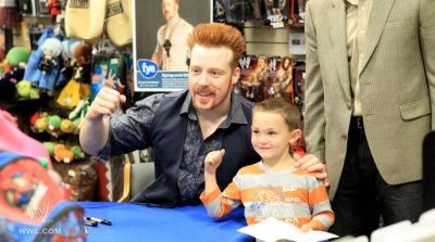 SHEAMUS SIGNS SUMMERSLAM DVDS