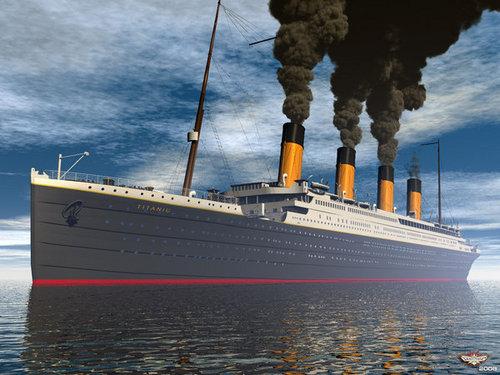 3d Titanic.