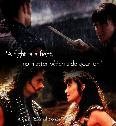 A fight is a figth, no matter which  side you on.