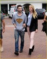 Adam Levine &amp; Anne V Trek to Tra Di Noi - adam-levine photo
