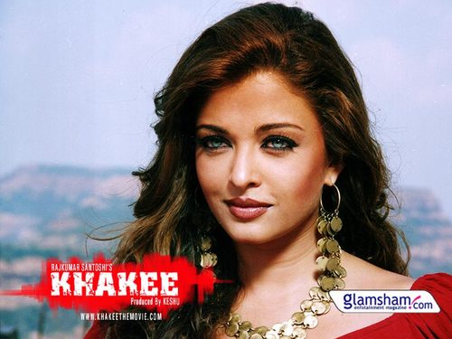 Aishwarya Rai wallpaper with a portrait entitled Aishwarya in Khakee