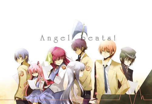 Angel Beats karatasi la kupamba ukuta