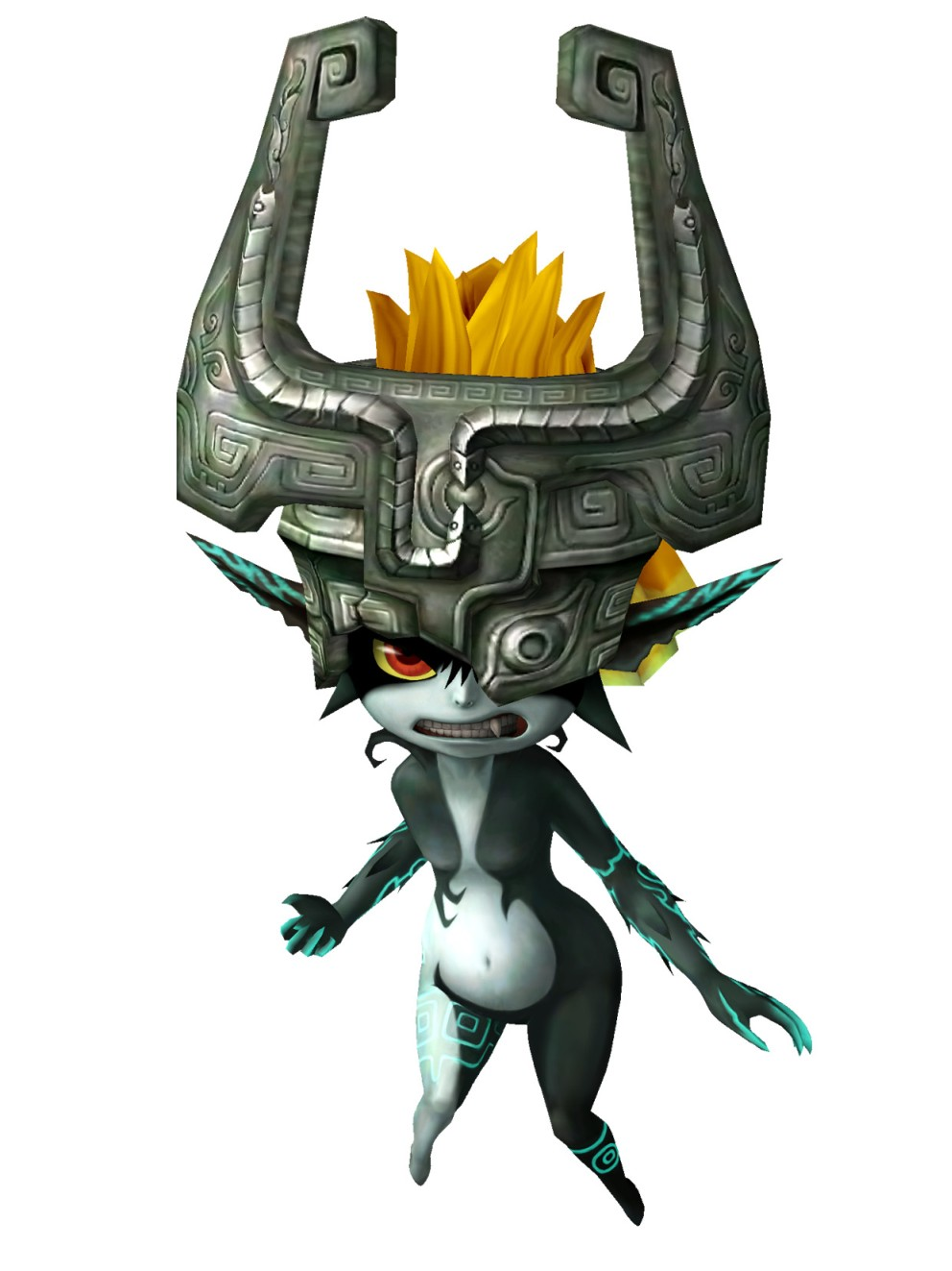 The Princess of Twilight Angry MidnaZelda Twilight Princess Midna