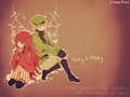 Anime Flaky and Flippy wallpaper