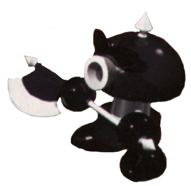 Super Mario RPG karatasi la kupamba ukuta called Axem Ranger Black