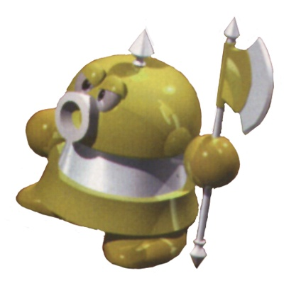 Super Mario RPG wolpeyper titled Axem Ranger Yellow