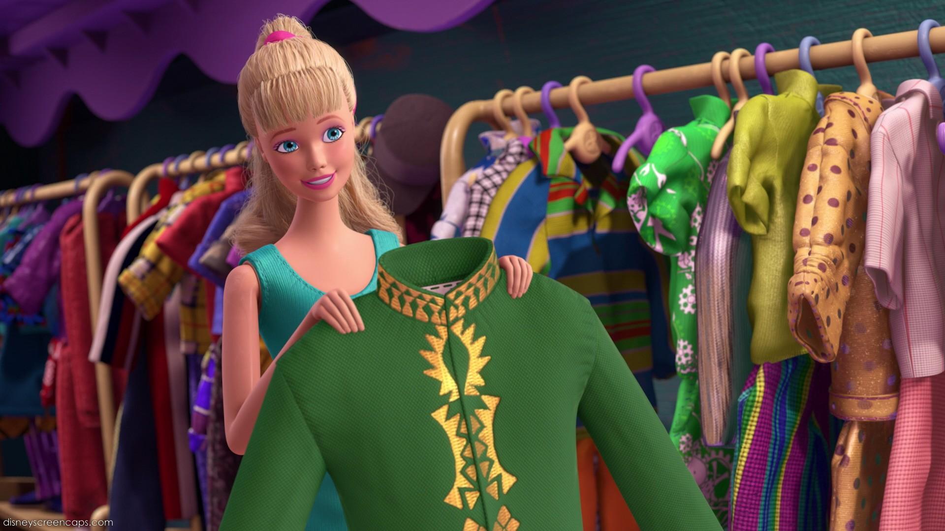 Barbie Rips Ken's Clothes