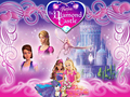 Barbie and the Diamond castello wallpaper