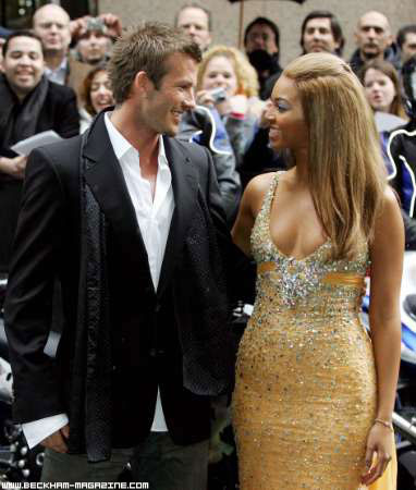 Beckham and Beyoncé