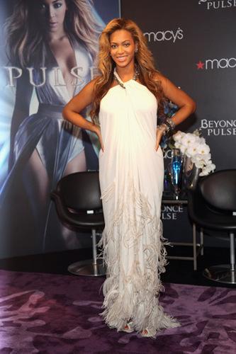 Beyoncé Hosts Pulse Fragrance Launch Event at Macy's