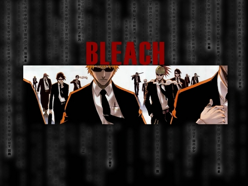 Bleach Anime wallpaper probably containing a sign called Bleach Guys ♥