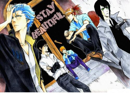 anime bleach wallpaper titled Bleach Guys ♥