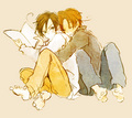 Brotherly love! - hetalia-italy photo