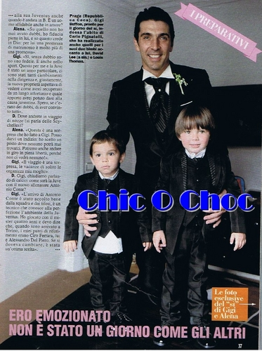Buffon with his children