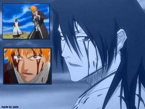 Kuchiki Byakuya Hintergrund possibly with Anime called Byakuya ♥