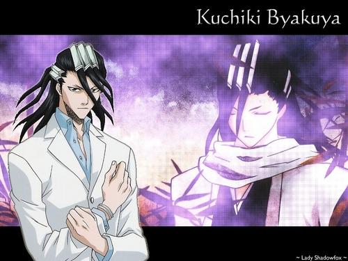 Kuchiki Byakuya Hintergrund containing Anime titled Byakuya ♥