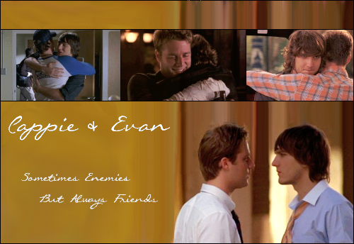 Cappie and Evan
