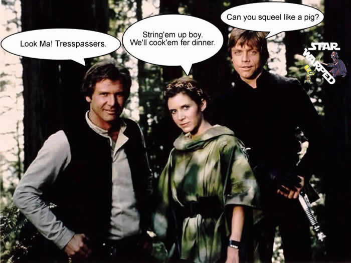 Star wars comedy comedy