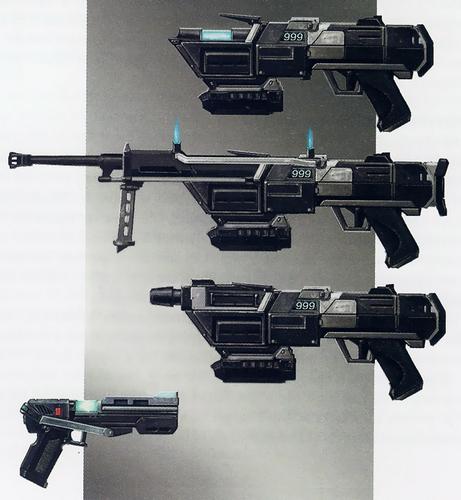 DC17_ZK_F190G6 Interchangable weapon sytem all attatchments