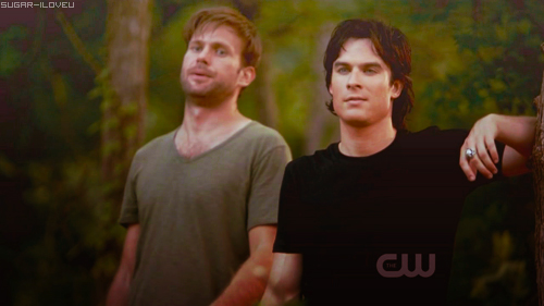 Damon/Alaric