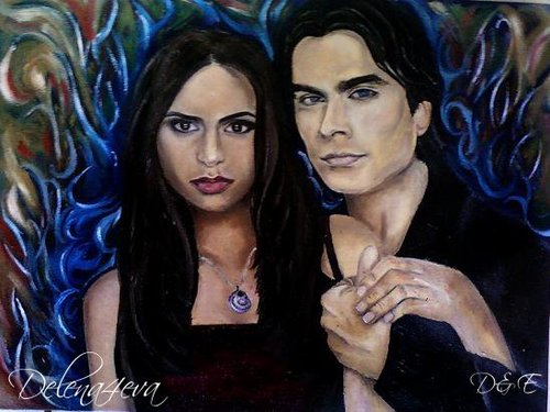 Delena (Oil on canvas painting)