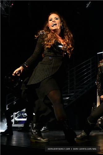 Demi - Performs at Club Nokia in Los Angeles - September 23, 2011