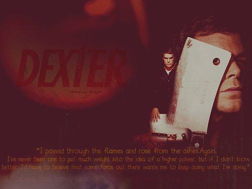 Dexter wallpaper with a cleaver called Dexter