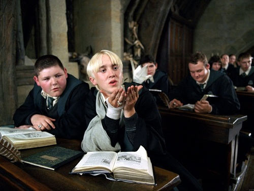 Draco Malfoy wallpaper with a reading room and a brasserie entitled Draco Malfoy Wallpaper