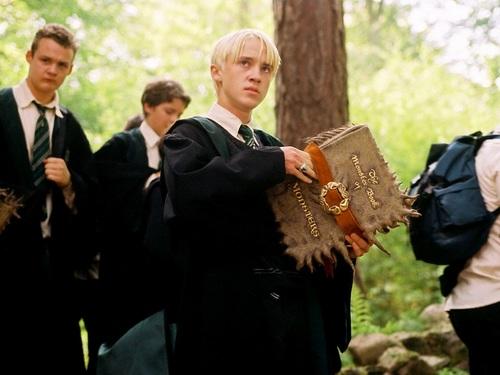 Draco Malfoy kertas dinding