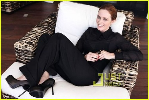 Emily Blunt: YSL Opium's New Face!