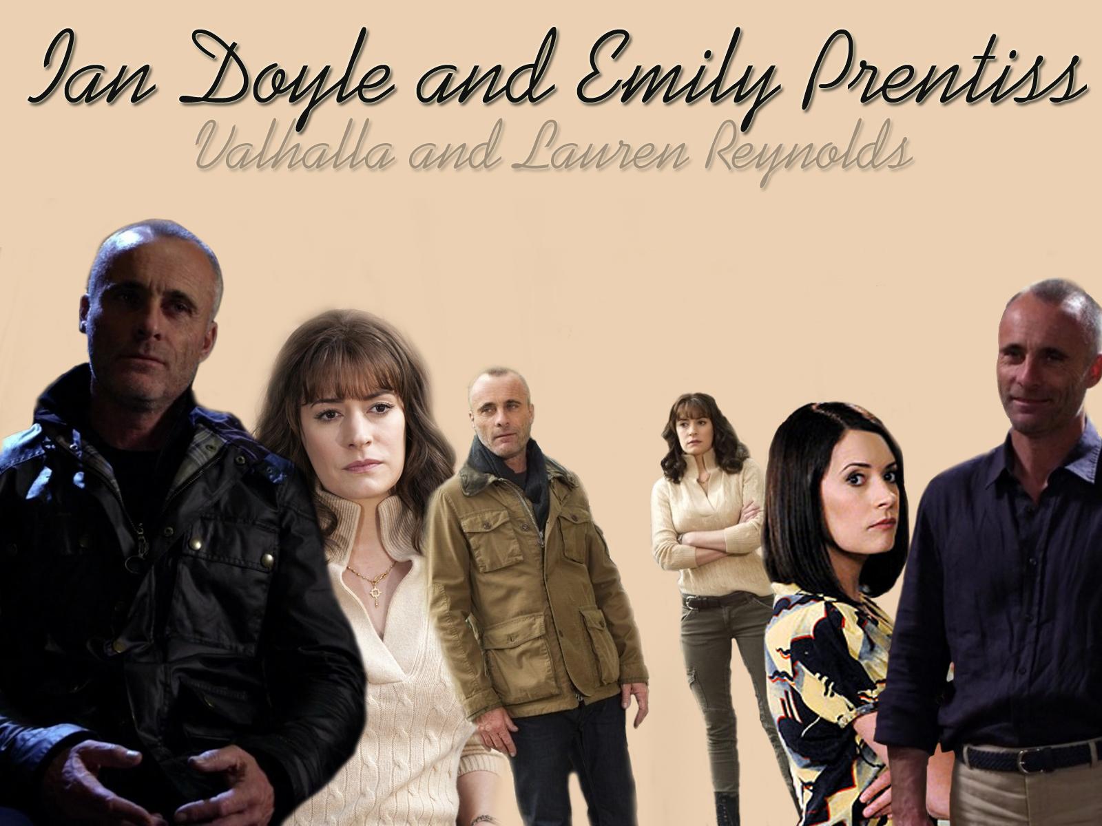 Emily Prentiss and Ian Doyle