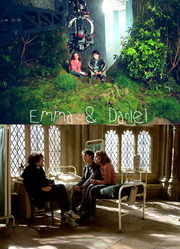 Emma & Daniel- Behind The Scenes of HP and the Prisoner of Azkaban