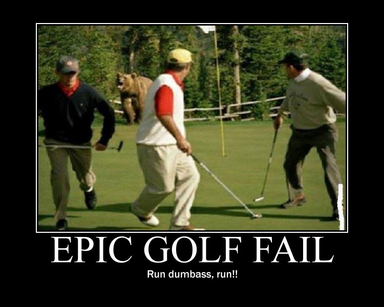 Epic Golf Fail