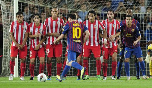 FC Barcelona vs Atletico Madrid La Liga week 5 [5-0]