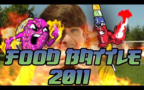 Smoshian Hecox And Anthony Padilla Images Food Battle 2011