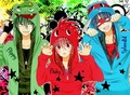 Flippy, Flaky and Splendid anime - happy-tree-friends photo