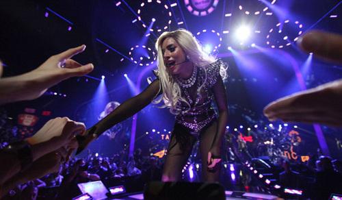 Gaga on festival