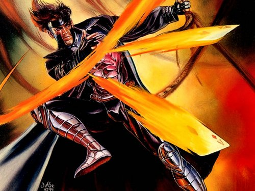 X-Men wallpaper probably containing anime entitled Gambit