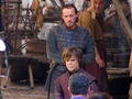 Game of Thrones- Season 2- Tyrion and Bronn on set - game-of-thrones photo