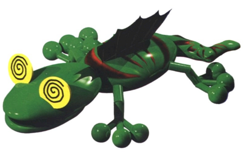 Super Mario RPG fond d'écran entitled gecko
