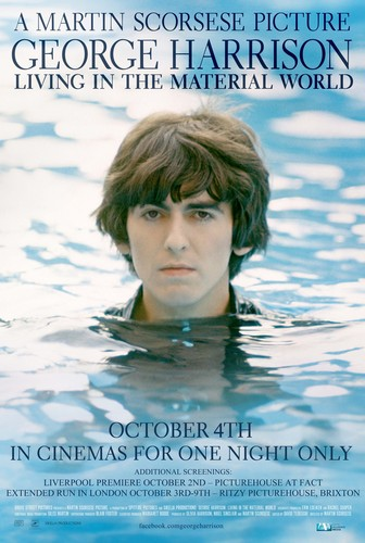 George Harrison: Living in the Material World - 4TH OCTOBER for ONE NIGHT ONLY