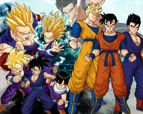 dragon ball z wallpaper containing animê called Gohan