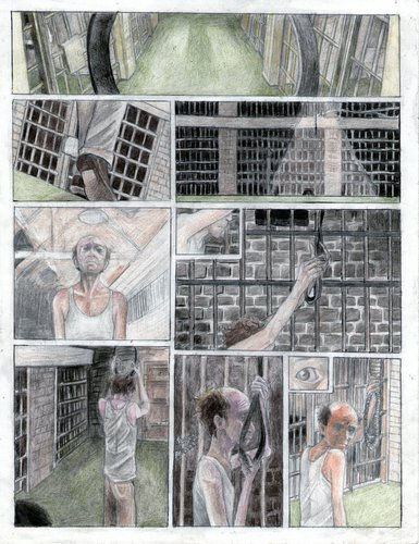 Green mile comic. pg 1