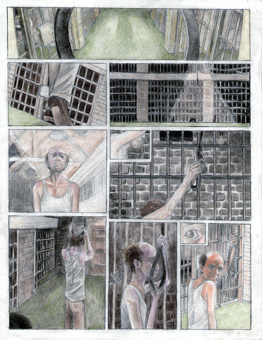 Green mile comic. pg 1