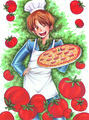 Hey! Want-a some pizza! - hetalia-italy photo