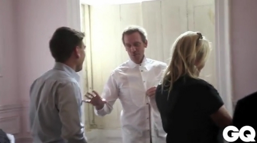 Hugh Laurie - Behind the Scenes (GQ)